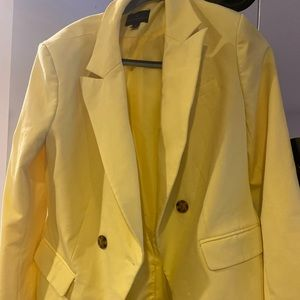 Yellow Blazer one of my favorite worn  twice